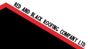 Red and Black Roofing